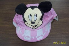 mickey hat - after
