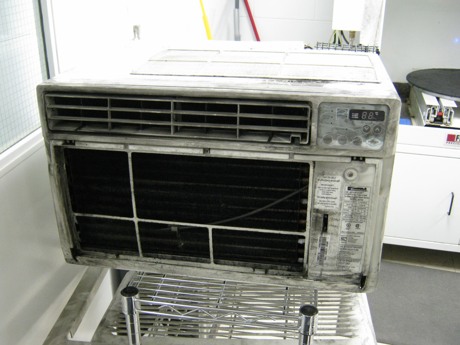 air conditioner - before