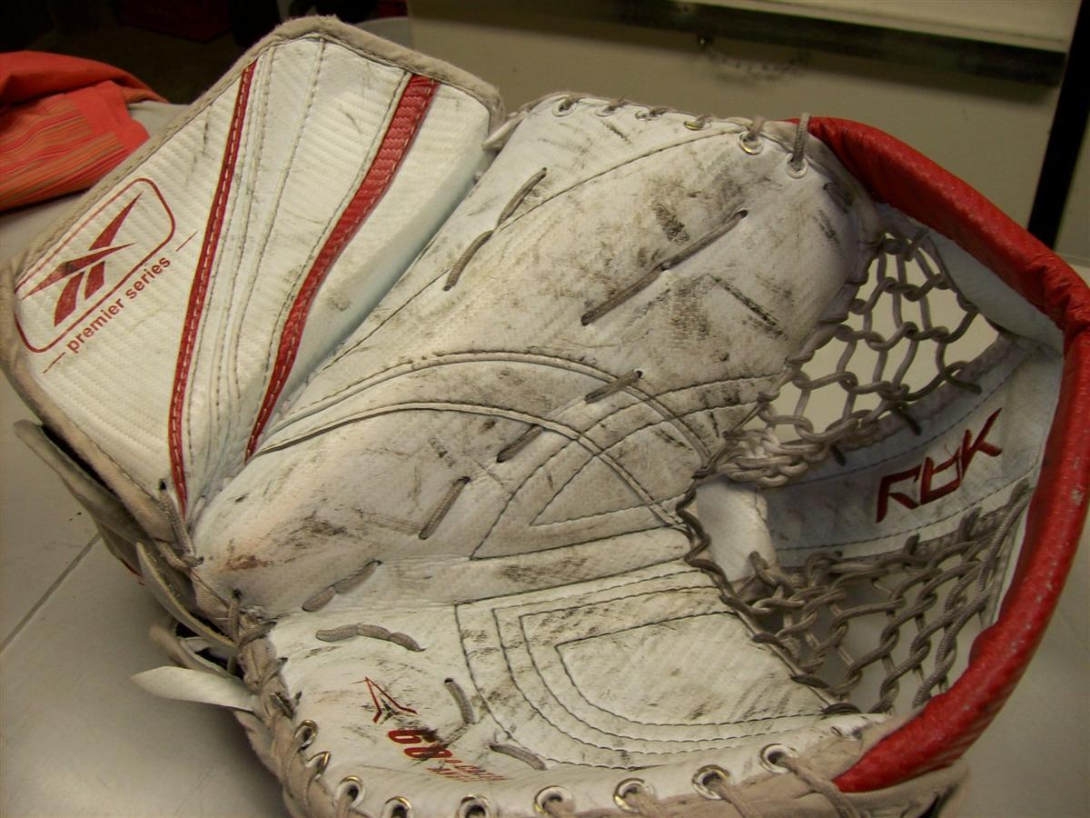 Goalie Glove Before