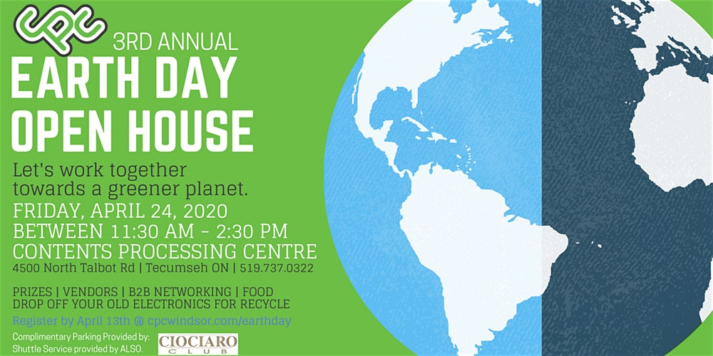 3rd Annual CPC Earth Day Open House